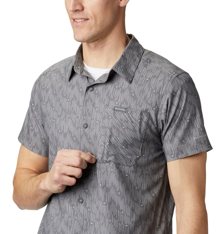 Triple Canyon™ SS Shirt | 024 | M Camicia a manica corta Triple Canyon™ da uomo , City Grey Maze, a2