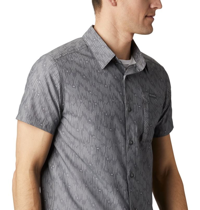 Triple Canyon™ SS Shirt | 024 | M Camicia a manica corta Triple Canyon™ da uomo , City Grey Maze, a3