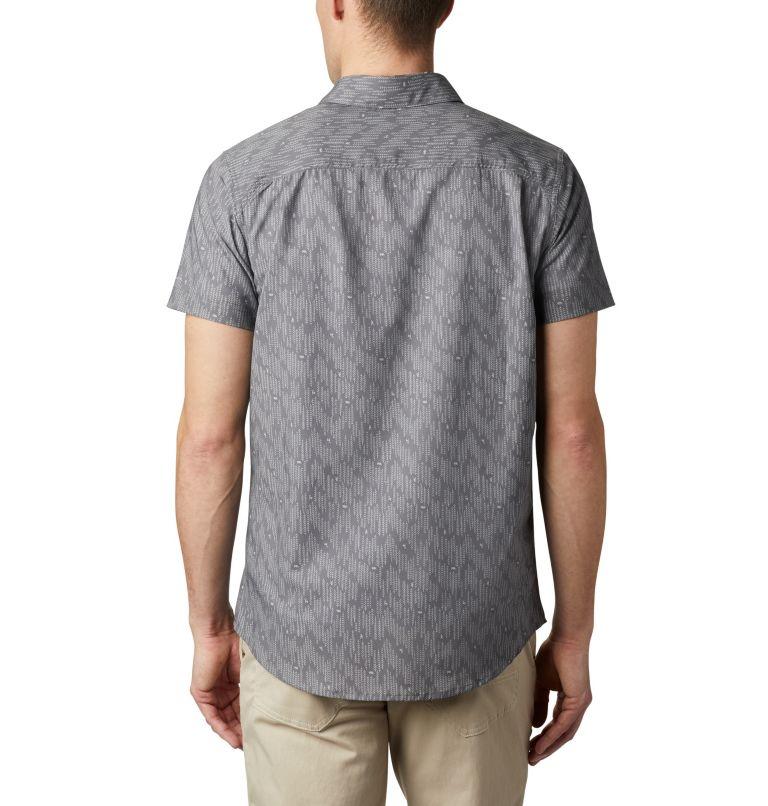 Triple Canyon™ SS Shirt | 024 | L Camicia a manica corta Triple Canyon™ da uomo , City Grey Maze, back