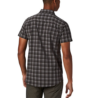 Camisa de manga corta Triple Canyon™ para hombre Triple Canyon™ SS Shirt | 437 | L, Columbia Grey Mini Tonal Plaid, back