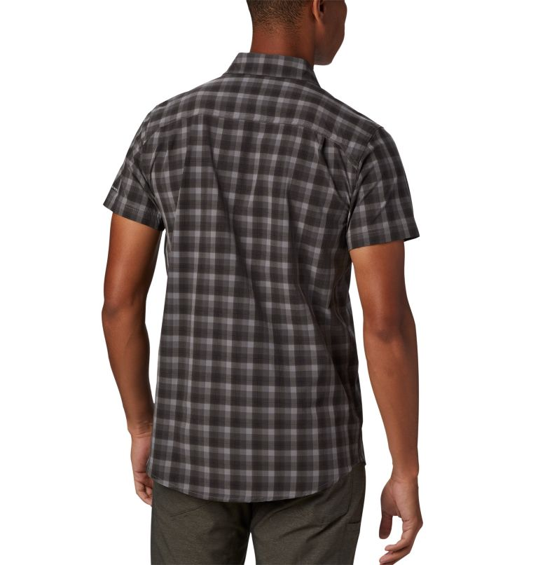 Triple Canyon™ SS Shirt | 039 | L Camicia a manica corta Triple Canyon™ da uomo , Columbia Grey Mini Tonal Plaid, back