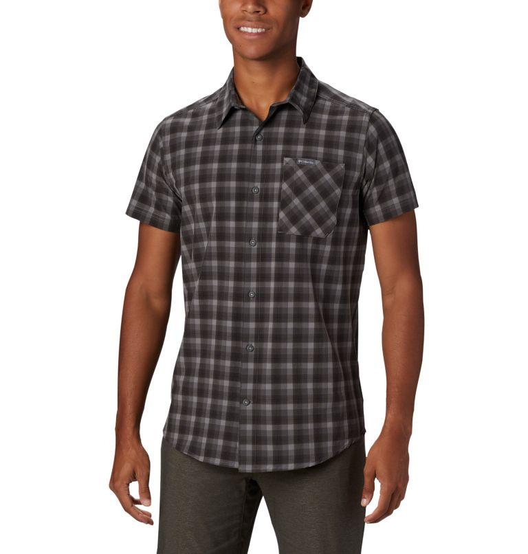 Triple Canyon™ SS Shirt | 039 | L Camicia a manica corta Triple Canyon™ da uomo , Columbia Grey Mini Tonal Plaid, front