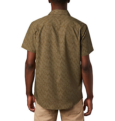 Camisa de manga corta Triple Canyon™ para hombre Triple Canyon™ SS Shirt | 437 | L, New Olive Maze, back