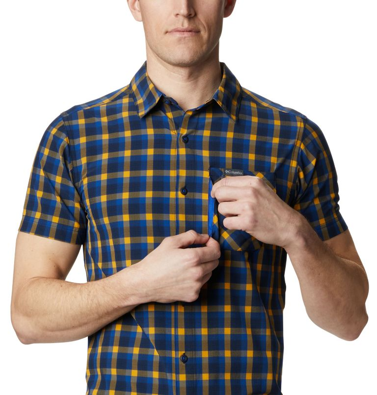 Triple Canyon™ SS Shirt | 437 | XXL Camicia a manica corta Triple Canyon™ da uomo , Azul Mini Tonal Plaid, a2