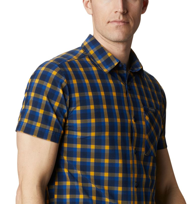 Triple Canyon™ SS Shirt | 437 | XXL Camicia a manica corta Triple Canyon™ da uomo , Azul Mini Tonal Plaid, a3