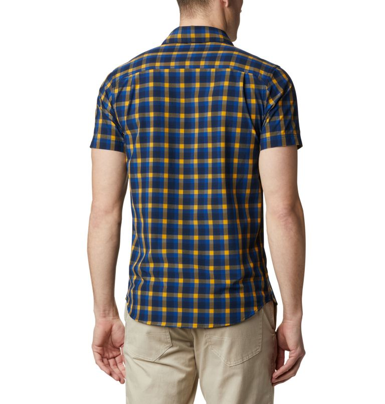 Triple Canyon™ SS Shirt | 437 | XXL Camicia a manica corta Triple Canyon™ da uomo , Azul Mini Tonal Plaid, back
