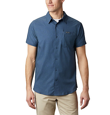 Camisa de manga corta Triple Canyon™ para hombre Triple Canyon™ SS Shirt | 437 | L, Dark Mountain Maze, front