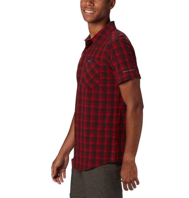 Triple Canyon™ SS Shirt | 613 | L Camicia a manica corta Triple Canyon™ da uomo , Mountain Red Mini Tonal Plaid, a1
