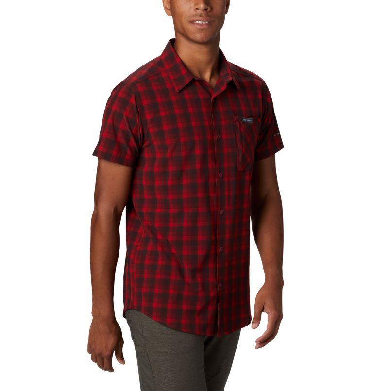 Triple Canyon™ SS Shirt | 613 | L Camicia a manica corta Triple Canyon™ da uomo , Mountain Red Mini Tonal Plaid, a2