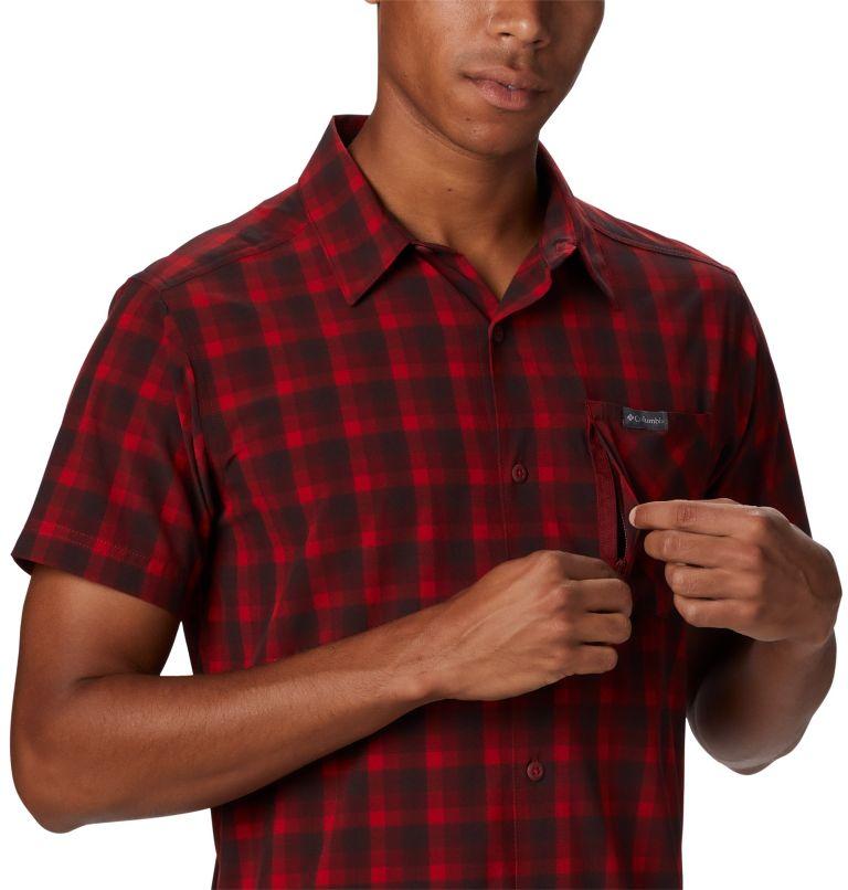 Triple Canyon™ SS Shirt | 613 | L Camicia a manica corta Triple Canyon™ da uomo , Mountain Red Mini Tonal Plaid, a3