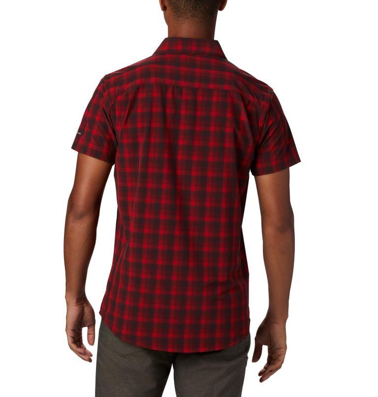 Triple Canyon™ SS Shirt | 613 | L Camicia a manica corta Triple Canyon™ da uomo , Mountain Red Mini Tonal Plaid, back