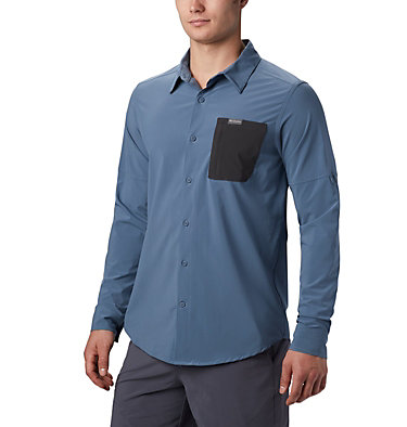 Men's Triple Canyon™ Shirt Solid Triple Canyon™ LS Shirt Solid | 160 | L, Mountain, Shark, front