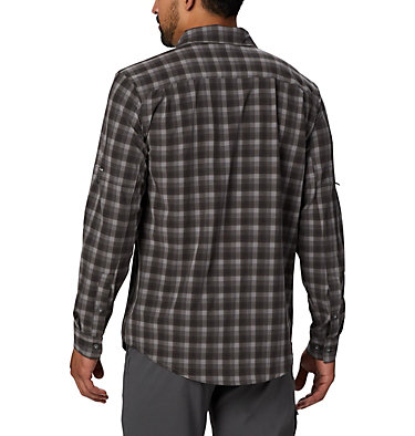 Camisa de manga larga Triple Canyon™ para hombre Triple Canyon™ LS Shirt | 432 | S, Columbia Grey Mini Tonal Plaid, back