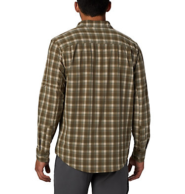 Men's Triple Canyon™ Shirt Triple Canyon™ LS Shirt | 432 | S, Fossil Mini Tonal Plaid, back
