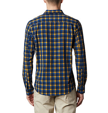 Camisa de manga larga Triple Canyon™ para hombre Triple Canyon™ LS Shirt | 432 | S, Azul Mini Tonal Plaid, back