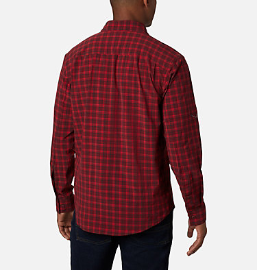 Men's Triple Canyon™ Shirt Triple Canyon™ LS Shirt | 432 | S, Red Jasper Mini Tonal Plaid, back