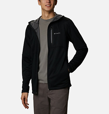 Men's Tech Trail™ Full Zip Hoodie Tech Trail™ FZ Hoodie | 011 | S, Black, front