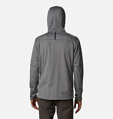 Men's Tech Trail™ Full Zip Hoodie Tech Trail™ FZ Hoodie | 011 | S, City Grey Heather, back