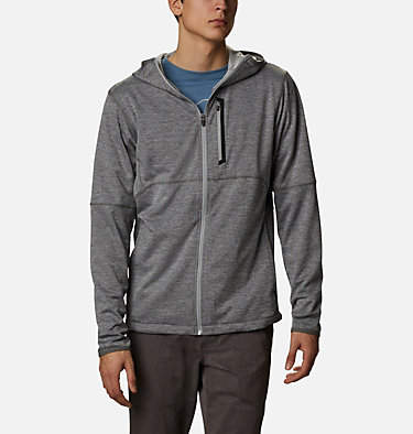 Men's Tech Trail™ Full Zip Hoodie Tech Trail™ FZ Hoodie | 011 | S, City Grey Heather, front