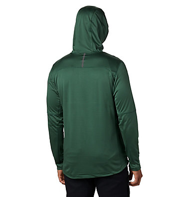Men's Tech Trail™ Full Zip Hoodie Tech Trail™ FZ Hoodie | 011 | S, Rain Forest, back