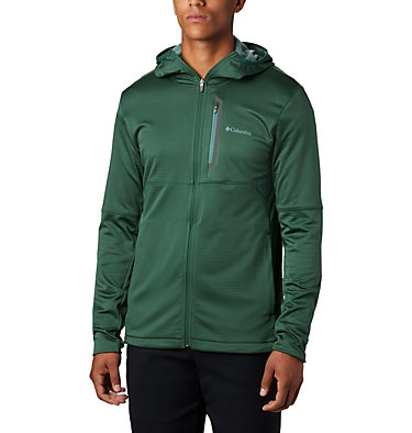 Men's Tech Trail™ Full Zip Hoodie Tech Trail™ FZ Hoodie | 011 | S, Rain Forest, front