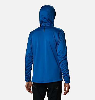 Men's Tech Trail™ Full Zip Hoodie Tech Trail™ FZ Hoodie | 011 | S, Bright Indigo, back