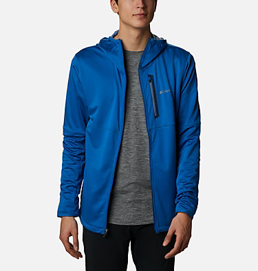 Men's Tech Trail™ Full Zip Hoodie Tech Trail™ FZ Hoodie | 011 | S, Bright Indigo, front