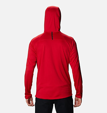 Men's Tech Trail™ Full Zip Hoodie Tech Trail™ FZ Hoodie | 011 | S, Mountain Red, back