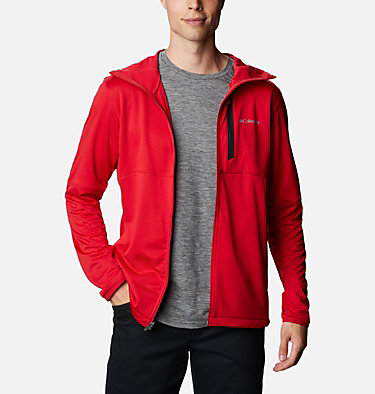 Men's Tech Trail™ Full Zip Hoodie Tech Trail™ FZ Hoodie | 011 | S, Mountain Red, front