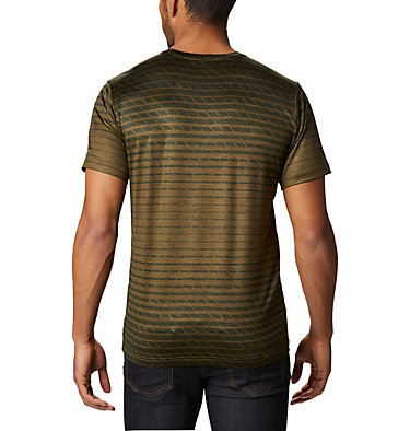T-shirt Tech Trail™ Homme Tech Trail™ Print SS Crew | 010 | S, New Olive Ombre, back