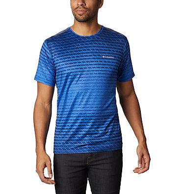 Men's Tech Trail™ Print T-Shirt Tech Trail™ Print SS Crew | 010 | M, Azul Ombre, front