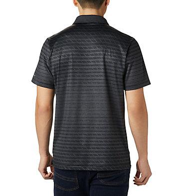 Men's Tech Trail™ Print Polo Tech Trail™ Print Polo | 010 | L, Black Ombre, back