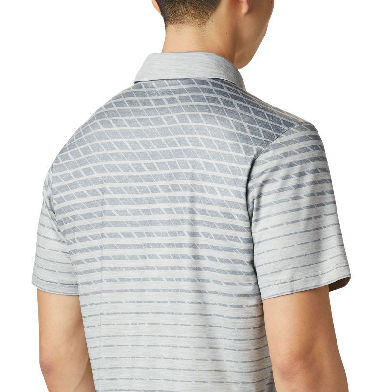 Tech Trail™ Print Polo | 039 | S Men's Tech Trail™ Print Polo, Columbia Grey Ombre, a3