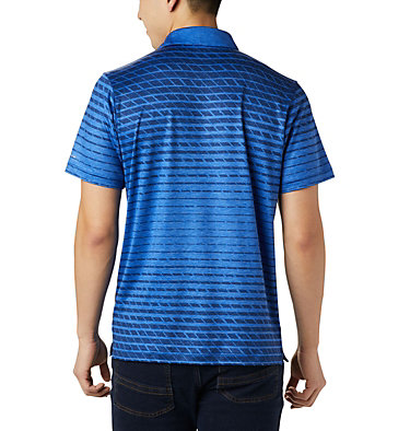 Men's Tech Trail™ Print Polo Tech Trail™ Print Polo | 010 | L, Azul Ombre, back