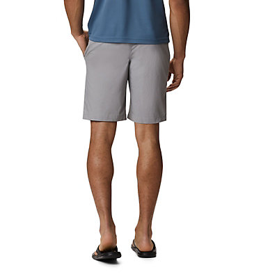 Men's Outdoor Elements™ Chambray Shorts Outdoor Elements™ Chambray Short | 023 | 28, City Grey Oxford, back