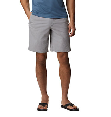 Men's Outdoor Elements™ Chambray Shorts Outdoor Elements™ Chambray Short | 023 | 28, City Grey Oxford, front
