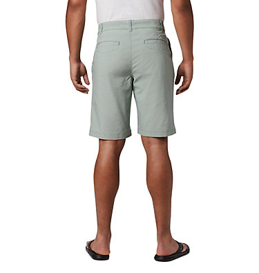 Men's Outdoor Elements™ Chambray Shorts Outdoor Elements™ Chambray Short | 160 | 32, Thyme Green Oxford, back