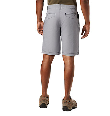 Men's Outdoor Elements™ Chambray Shorts Outdoor Elements™ Chambray Short | 160 | 32, Collegiate Navy Oxford, back