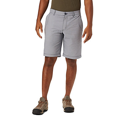 Men's Outdoor Elements™ Chambray Shorts Outdoor Elements™ Chambray Short | 023 | 28, Collegiate Navy Oxford, front