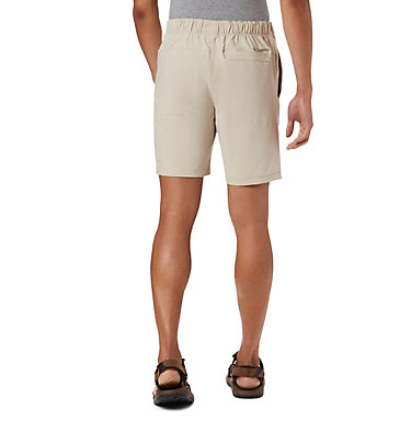 Men's Columbia Lodge™ Woven Shorts Columbia Lodge™ Woven Short | 464 | L, Fossil, back