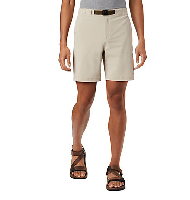 Men's Columbia Lodge™ Woven Shorts Columbia Lodge™ Woven Short | 464 | L, Fossil, front