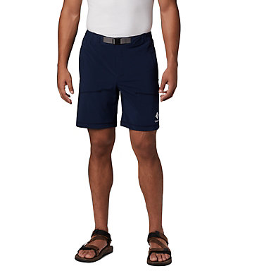 Men's Columbia Lodge™ Woven Shorts Columbia Lodge™ Woven Short | 464 | L, Collegiate Navy, front