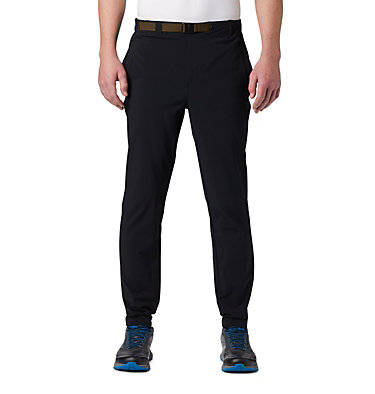 Men's Columbia Lodge™ Woven Joggers Columbia Lodge™ Woven Jogger | 023 | L, Black, front