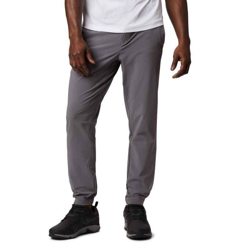 Men's Columbia Lodge™ Woven Joggers Men's Columbia Lodge™ Woven Joggers, front