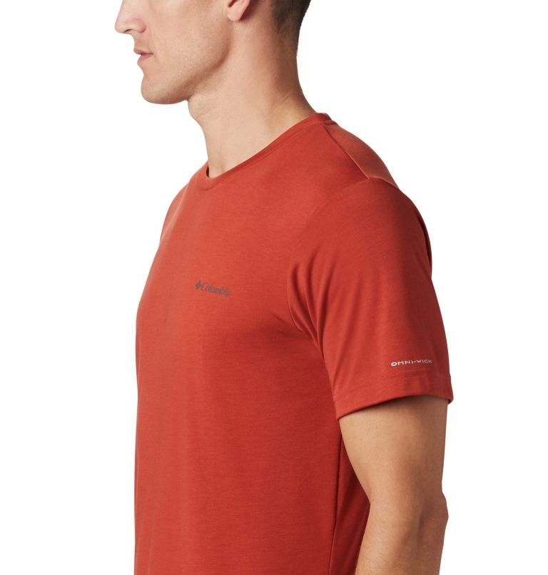 Maxtrail™ SS Logo Tee | 835 | M Men's Maxtrail Logo T-Shirt, Carnelian Red, a2