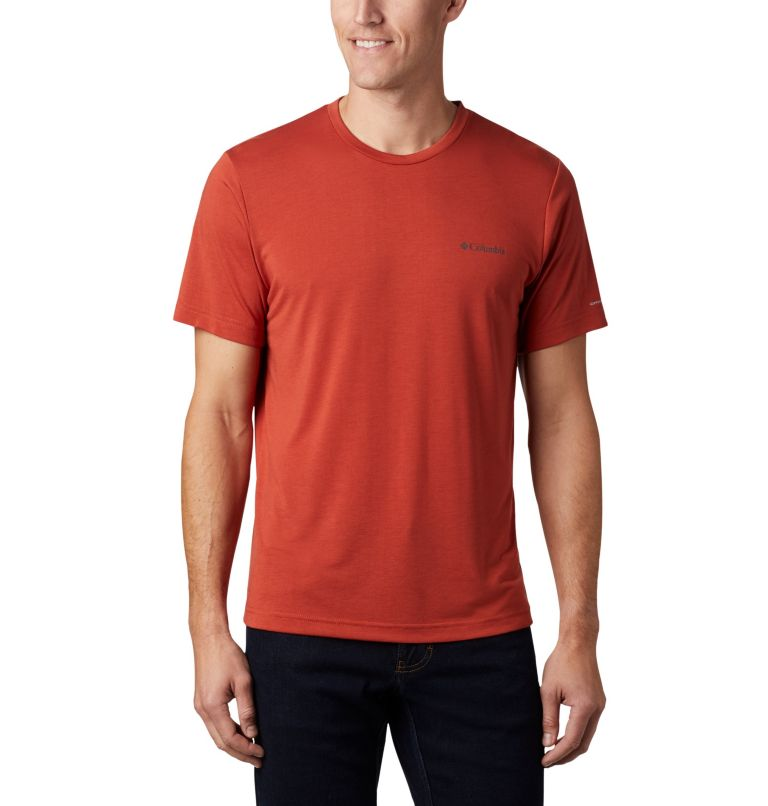 Maxtrail™ SS Logo Tee | 835 | M Men's Maxtrail Logo T-Shirt, Carnelian Red, back