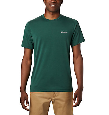 Men's Maxtrail™ Short Sleeve Logo Tee Maxtrail™ SS Logo Tee | 011 | S, Rain Forest, front