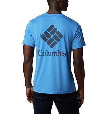 Men's Maxtrail™ Short Sleeve Logo Tee Maxtrail™ SS Logo Tee | 011 | S, Azure Blue, back