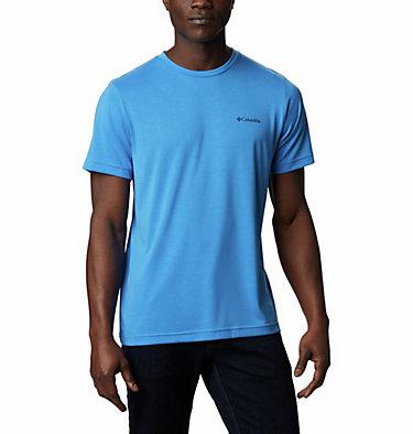 Maxtrail™ Logo T-Shirt für Herren Maxtrail™ SS Logo Tee | 011 | S, Azure Blue, front