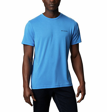 Men's Maxtrail™ Short Sleeve Logo Tee Maxtrail™ SS Logo Tee | 011 | S, Azure Blue, front